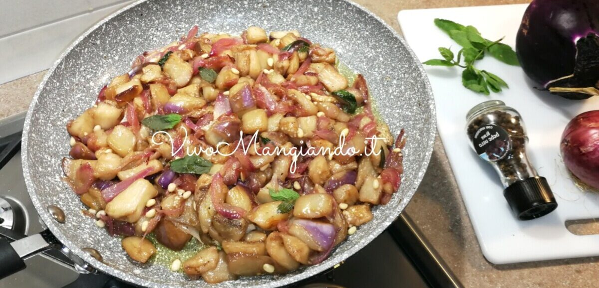 melanzane in agrodolce alla siciliana