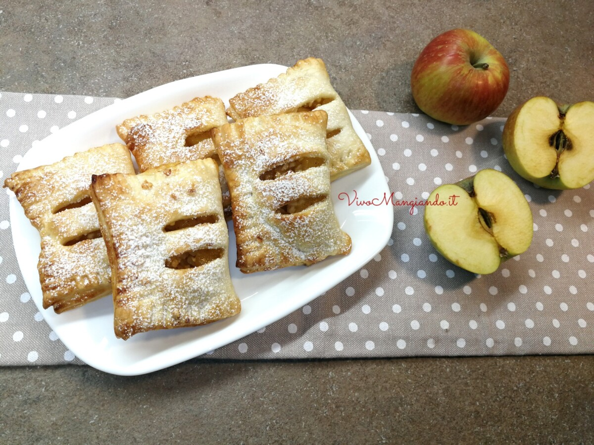 fagottini di mele con confettura