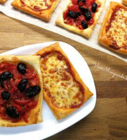 Sfogliatine al pomodoro e olive