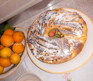 torta angelica con arance