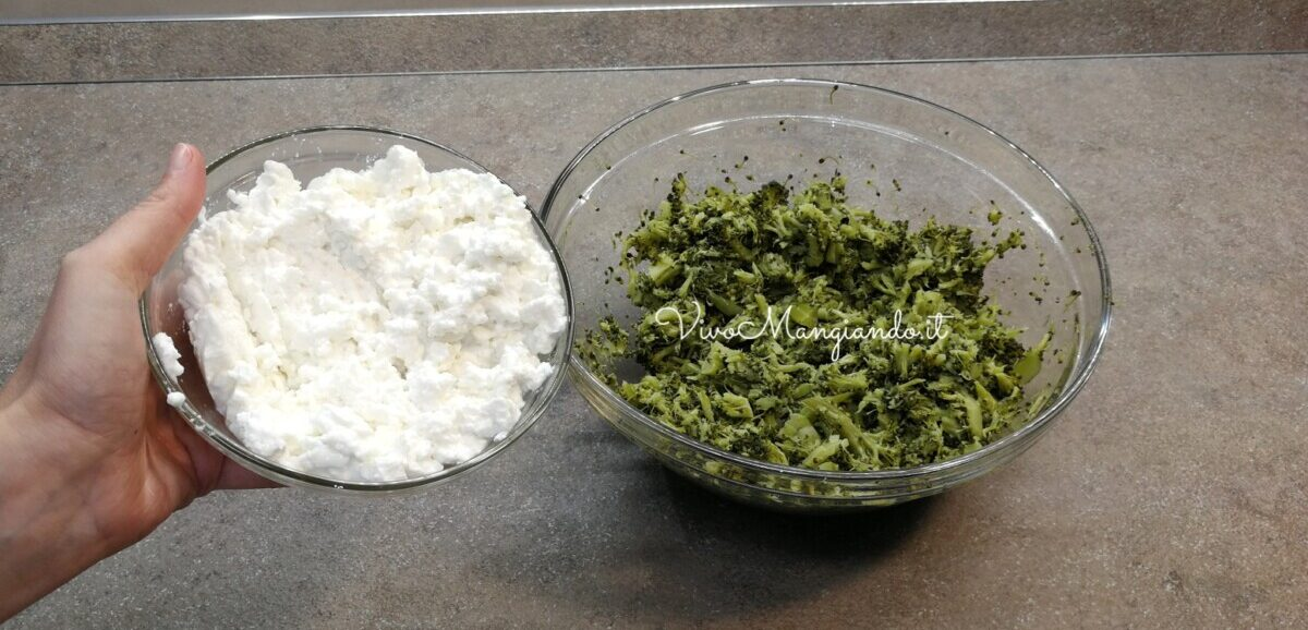 lasagne con broccoli ricotta