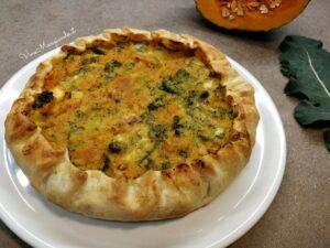 torta di zucca broccoli e gorgonzola