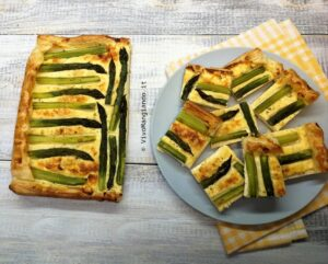 torta salata asparagi e ricotta