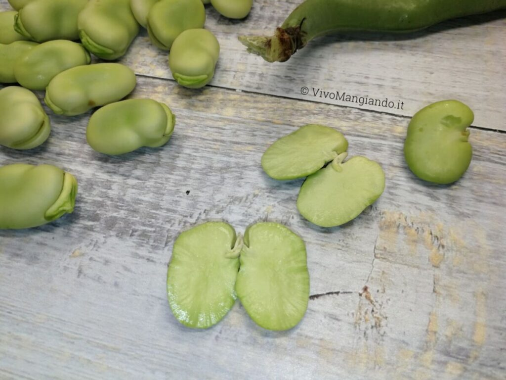 proprietà e benefici delle fave
