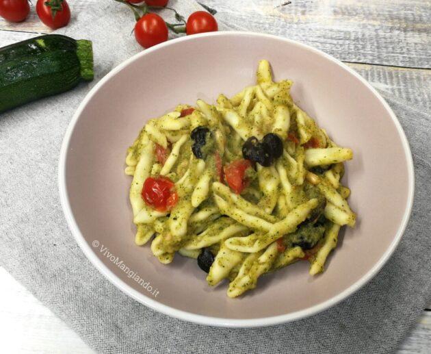 cremosa zucchine e pomodorini
