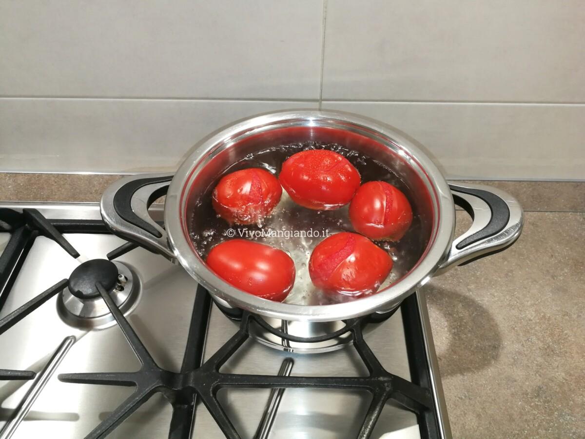 pasta al pomodoro fresco
