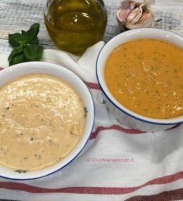 Pesto alla siciliana a modo mio, in due versioni